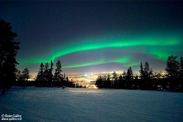 צילום זוהר הקוטב