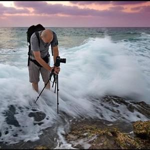 photo in the sea